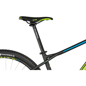 "GT Bicycles Avalanche Elite 29"" gloss gunmetal/cyan/black"